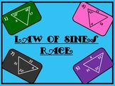 Law of Sines Race (Interactive PowerPoint Game)