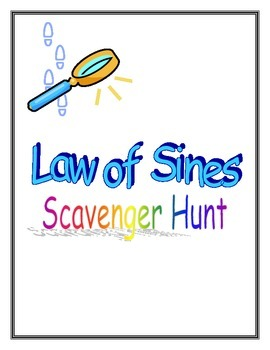 Law of Sines Scavenger Hunt