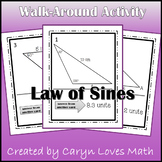 Law of Sines Walk Around Activity - Ambiguous Case - Finding Oblique Triangles