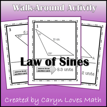 Law Of Sines Ambiguous Case Teaching Resources Teachers Pay Teachers