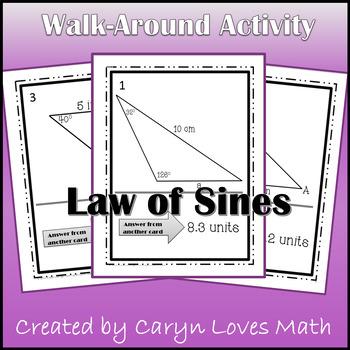 Law of Sines Walk Around Activity - Ambiguous Case - Findi