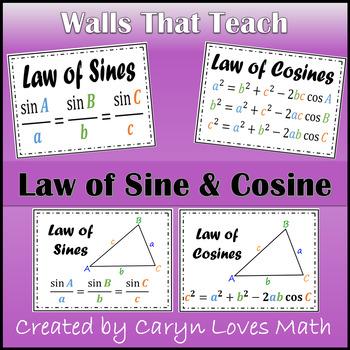 Trigonometry Posters Resources Lesson Plans Teachers Pay Teachers
