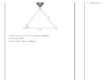 Law of Sines and Law of Cosines with Metacognition