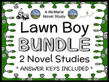 Lawn Boy COLLECTION (Gary Paulsen) 2 Novel Studies / Comprehension  (69 pages)