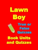 Lawn Boy Chapter Comprehension Questions