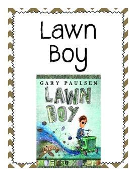 Lawn Boy Comprehension Questions
