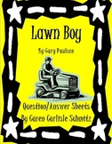 Lawn Boy Comprehensive Question Sheet