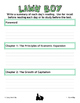 Lawn Boy Literature Study: Test, Vocabulary, Activities, E