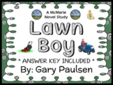 Lawn Boy (Gary Paulsen) Novel Study / Reading Comprehensio
