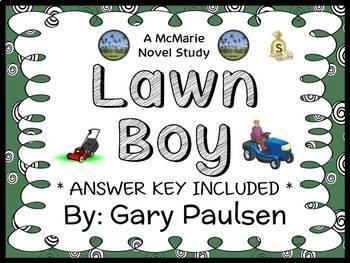 Lawn Boy (Gary Paulsen) Novel Study / Reading Comprehensio