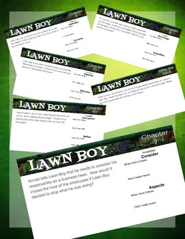 Lawn Boy Response Questions for Google Classroom