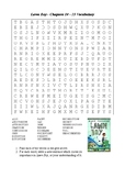 Lawn Boy - Word Search Chapters 10 - 15