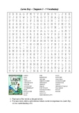 Lawn Boy - Word Search Chapters 5 - 9