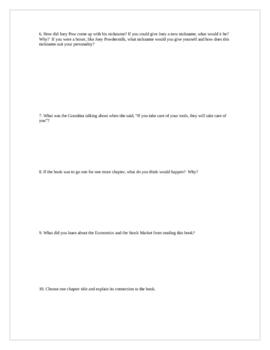 """Lawn Boy"", by G. Paulsen, Short Answer TEST"
