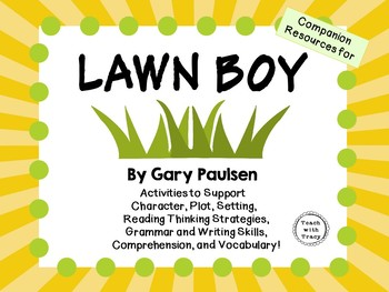 Lawn Boy by Gary Paulsen: A Complete Novel Study!