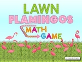 Lawn Flamingos Math Game
