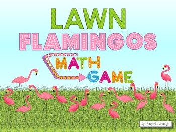 Lawn Flamingos Math Game
