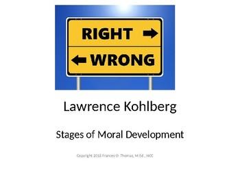 Lawrence Kohlberg Stages of Moral Development