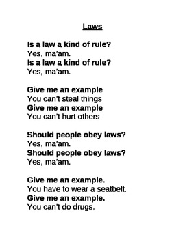 Laws Chant