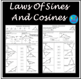 Laws Of Sines And Cosines - Solve and Match