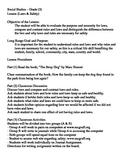 Laws & Safety Lesson Plan (Grade 3)