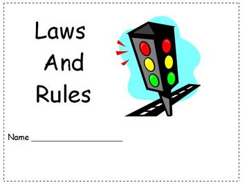 Laws and Rules for Good Citizens Lesson