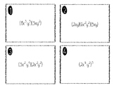 Laws of Exponent Task Cards