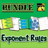 Laws of Exponents Bundle - Practice with Power Rules