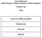 Laws of Exponents - Division, Negative, and Zero - Problem Trail