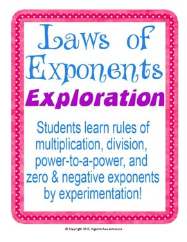 Laws of Exponents Lab