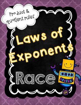 Laws of Exponents Race Game