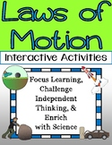 Newton's Laws of Motion Activities