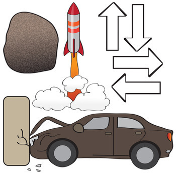 Laws of Motion Clip Art