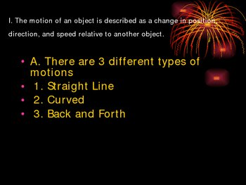 Laws of Motion Powerpoint