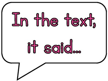 Lawyer Talk Discussion Posters for Guided Reading/Reading Workshop (Hot Pink)