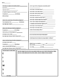 Layers of Earths Atmosphere Guided Notes - Worksheet with