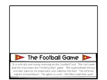 Layered Book: The Football Game (Book & Activities)