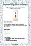 Layered Liquids Challenge - Density