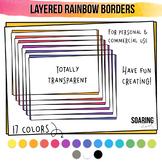 Layered Rainbow Borders