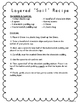 """Layered """"Soil"""" Recipe with Reading Questions"""