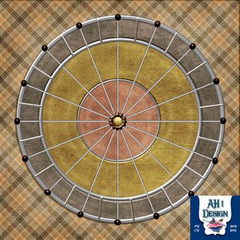 Layered Wheel Page Layout CU