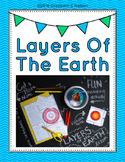 Layers Of The Earth Lesson