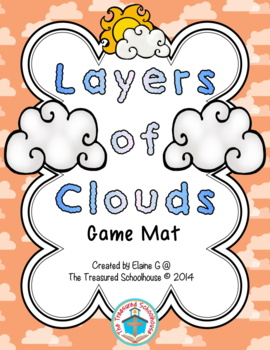 Layers of Clouds Game Mat - Weather