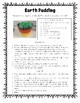 Layers of Earth - Information Sheet, Activity Page, and Treat!