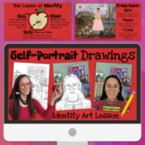 Layers of Identity: Self-Portrait Drawing Lesson