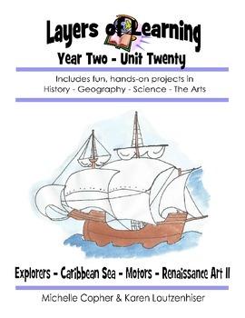 Layers of Learning Unit 2-20 Explorers, Caribbean Sea, Mot