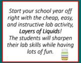 Layers of Liquids