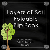 Layers of Soil Foldable Flip Book for Interactive Science Notebook
