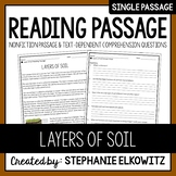 Layers of Soil Reading Passage