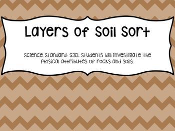 Layers of Soil Sort